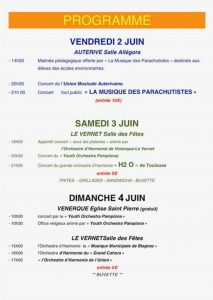 programme festival orchestres